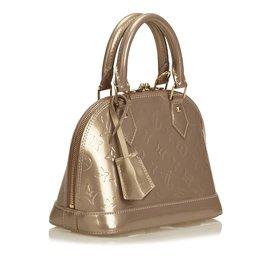 Louis Vuitton-Vernis Alma BB-Marron