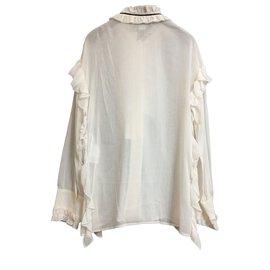 Gucci-camicia donna-Blanc