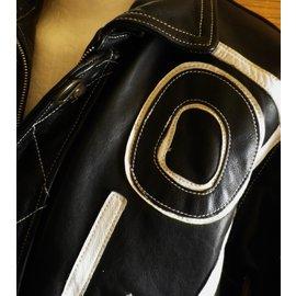 Giorgio-blouson de moto-Noir