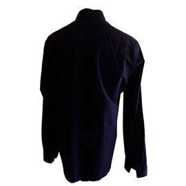 Givenchy-Chemise-Bleu foncé
