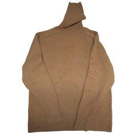 Chloé-Knitwear-Caramel