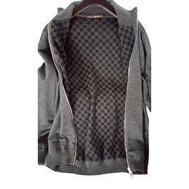 Louis Vuitton-Pulls, gilets homme-Gris
