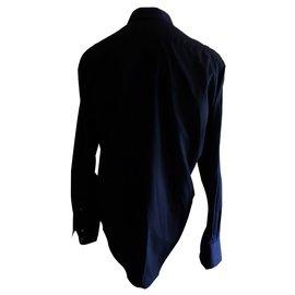 Yves Saint Laurent-Chemise-Noir