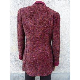 Chanel-Coats, Outerwear-Prune