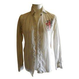 Christian Lacroix-chemise-Blanc