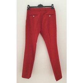 Gucci-Pantalons-Rouge