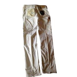 Jacob Cohen-Jeans 688 GOLF-Blanc