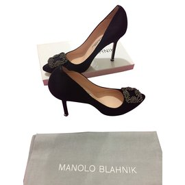 e6604a2864fdbe Manolo Blahnik occasion - Joli Closet