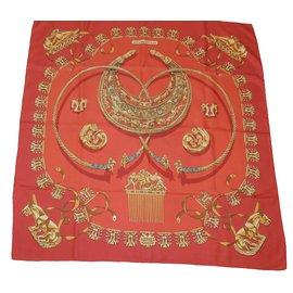 72811b74f6f5 Hermès-Les cavaliers d or-Rouge ...