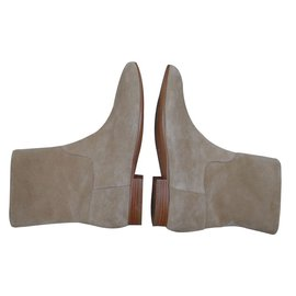 Etro-Ankle boots-Beige