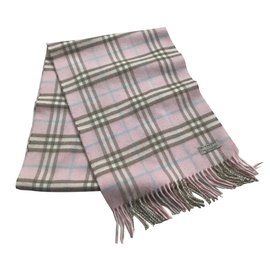 Burberry-Scarves-Pink