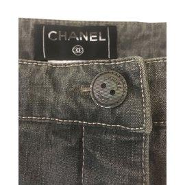 Chanel-Jeans-Gris