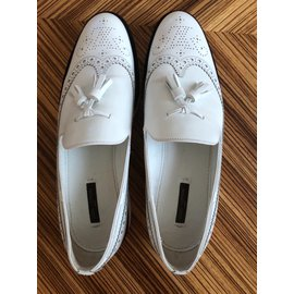 Louis Vuitton-Derbies-Blanc