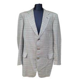 Hermès-Vestes, blousons-Marron,Vert