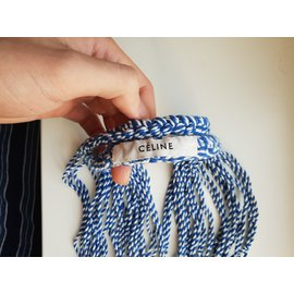 Céline-Net bag-Blue
