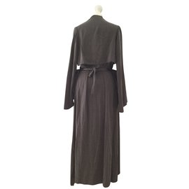 Attico-Dresses-Brown