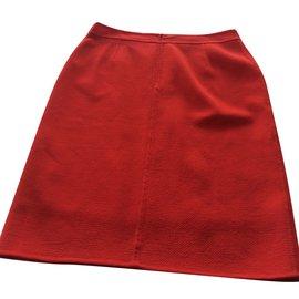 Escada-Skirts-Red