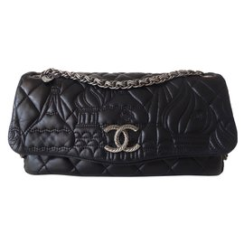 Chanel-SAC CHANEL PARIS-MOSCOU-Noir