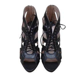 Miu Miu-sandals-Black