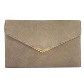 Hermès-Clutch bags-Beige