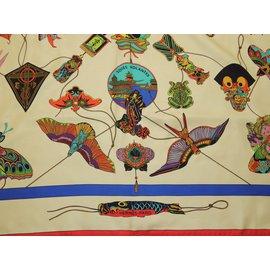 Hermès-SOIES VOLANTES-Multicolore