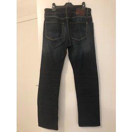 Autre Marque-Jeans-Bleu Marine