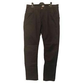 Autre Marque-Pantalons-Gris anthracite