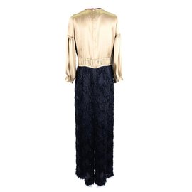Dries Van Noten-Dress-Golden