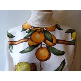 Hermès-Pulls, Gilets-Multicolore,Beige