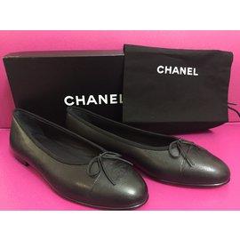 Chanel-Ballerinas-Black