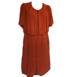Alexander Mcqueen-Dresses-Orange
