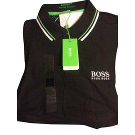 Hugo Boss-Polos-Noir