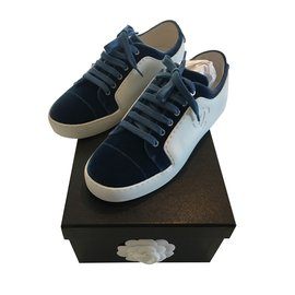 Chanel-sneakers-Blue