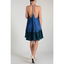 Fendi-Robe-Bleu