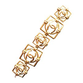 Chanel-Bracelets-Golden