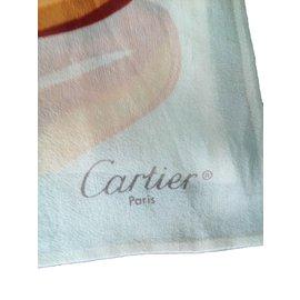 Cartier-Foulard-Multicolore