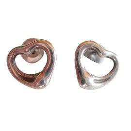 Tiffany & Co-Boucles d'oreilles-Argenté
