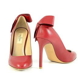 Valentino-Escarpins-Rouge
