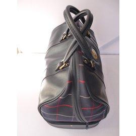 Burberry-Travel bag-Navy blue
