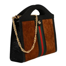 Gucci-Sacs à main-Marron