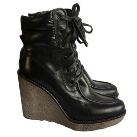 Moncler-Boots Moncler-Noir