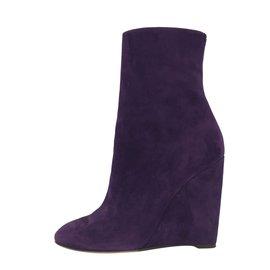 Gucci-Bottines-Violet
