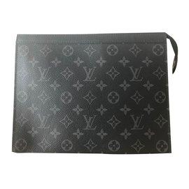 Louis Vuitton-Pochette pour hommes-Noir