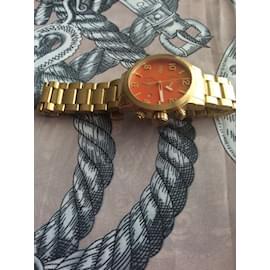 Autre Marque-Brera Orologi Gold Armbanduhr-Rot,Golden,Koralle