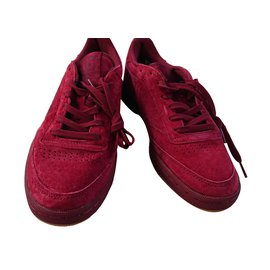Reebok-Baskets-Rouge