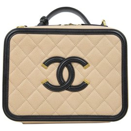 Chanel-Trousse de toilette-Beige