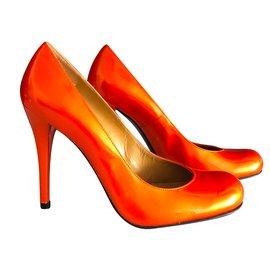 Stuart Weitzman-Escarpins-Orange