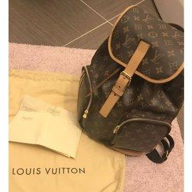 Louis Vuitton-Sac à dos bosphore-Marron