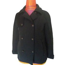 Ikks-Coats-Black