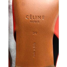 Céline-Pumps-Red